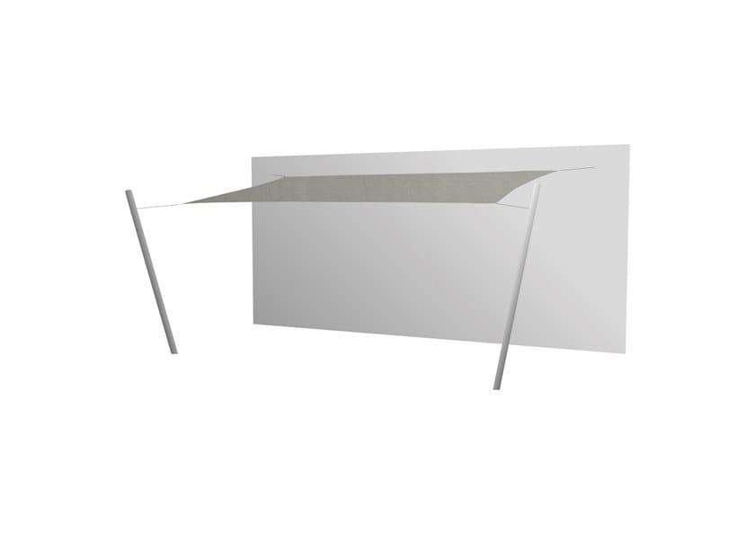 Ingenua rectangle shade sail Grey