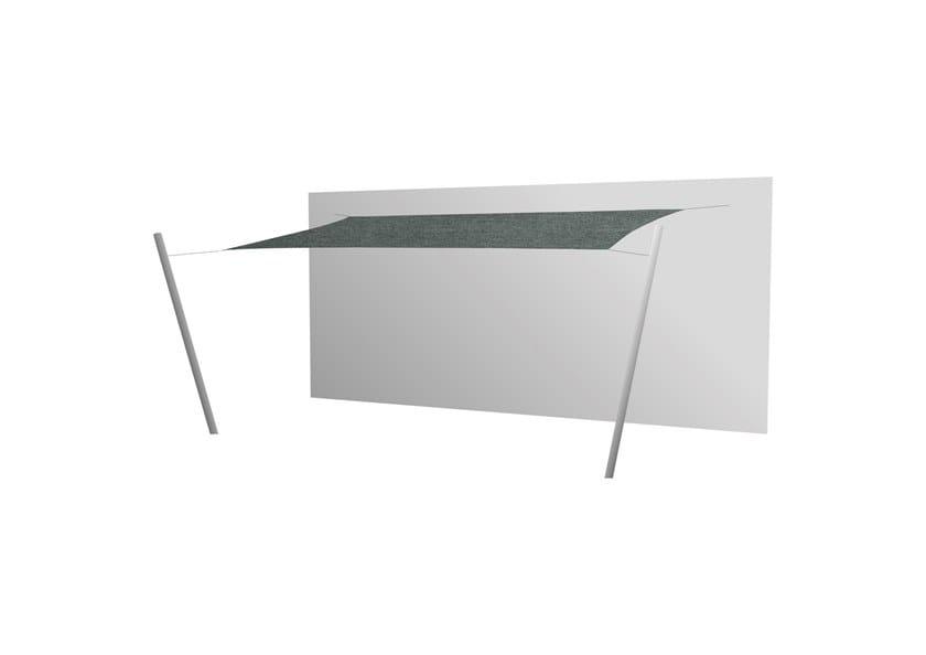 Ingenua rectangle shade sail Flanelle
