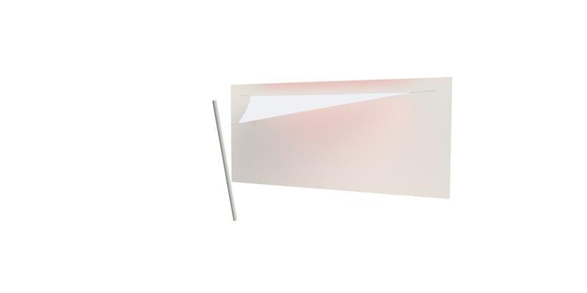 Ingenua triangle shade sail Natural