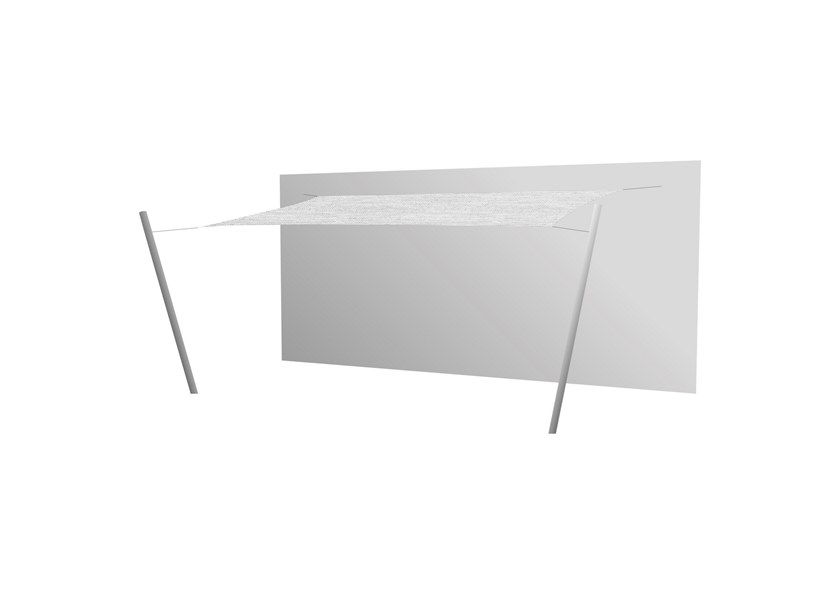 Ingenua rectangle shade sail Marble