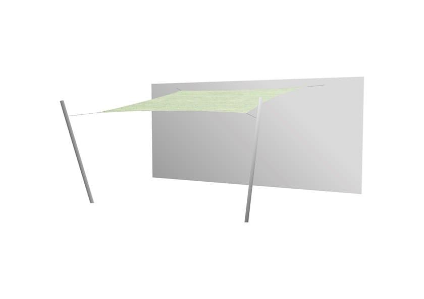 Ingenua square shade sail Mint