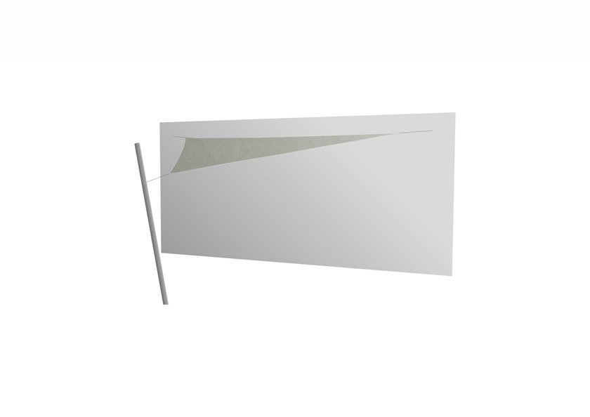 Ingenua triangle shade sail Grey