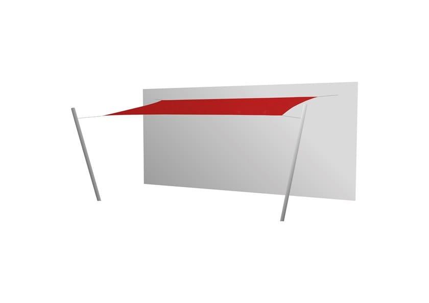Ingenua rectangle shade sail Pepper