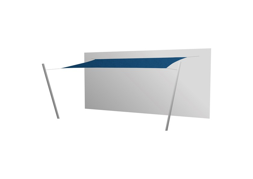 Ingenua rectangle shade sail Blue Storm
