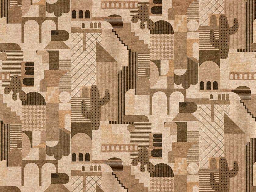 Tessuto antibatterico in cotone con motivi grafici INHAUS   Tessuto by Aldeco