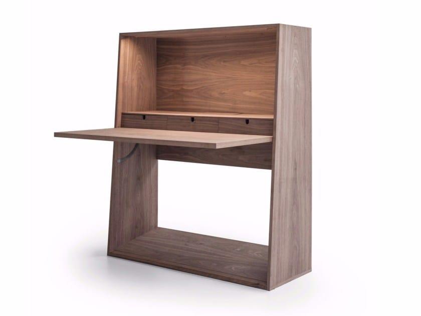 Wooden Secretary Desk Ink By Molteni C