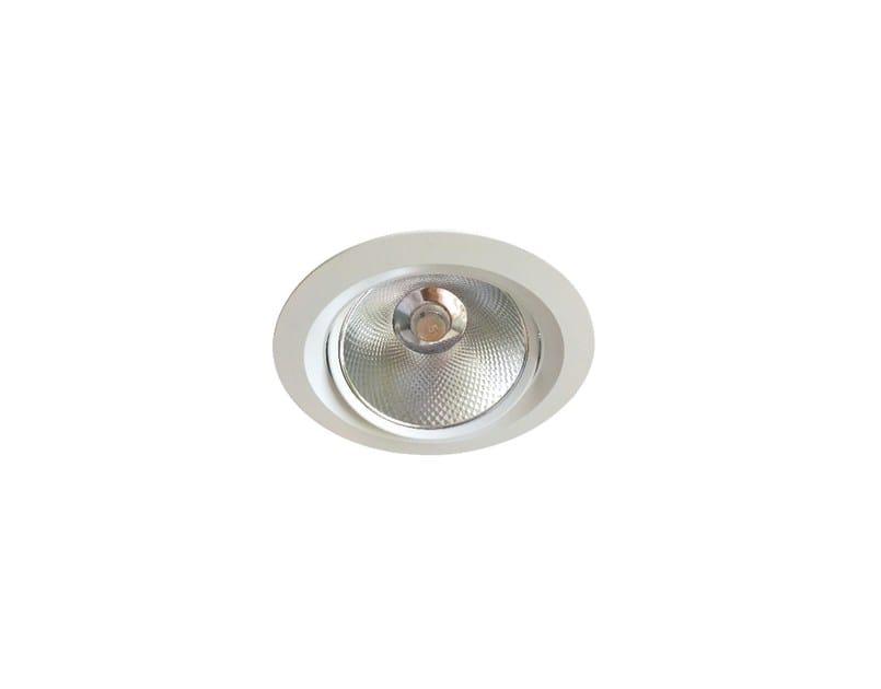 LED adjustable recessed metal spotlight INLUX ITALIA – OCCHIO 18 ADJ by NEXO LUCE