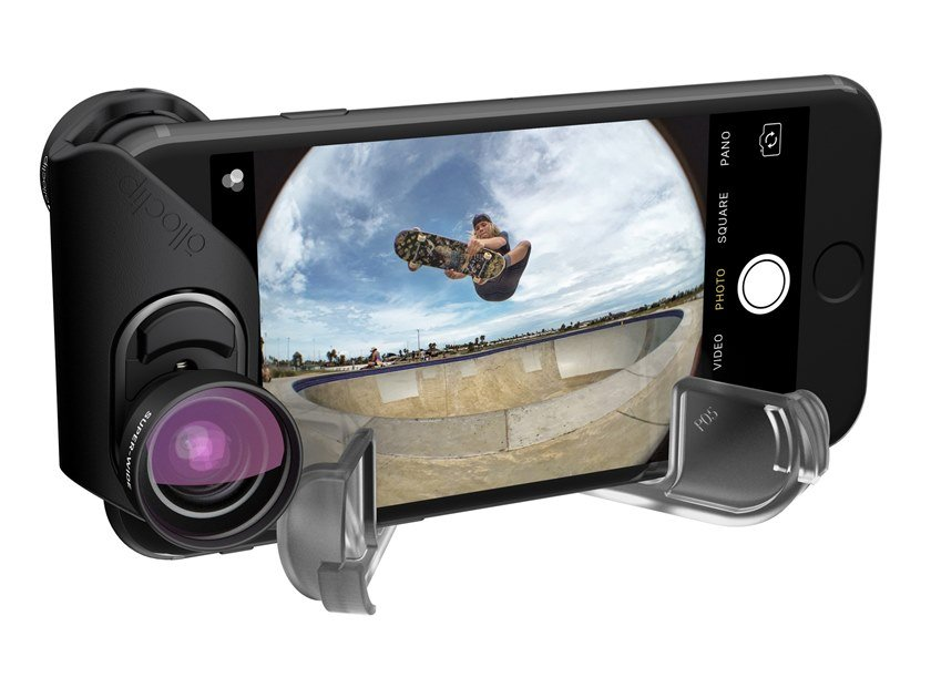 Smartphone and tablet accessory INM350 |  FISHEYE, SUPER-WIDE E MACRO by Olloclip