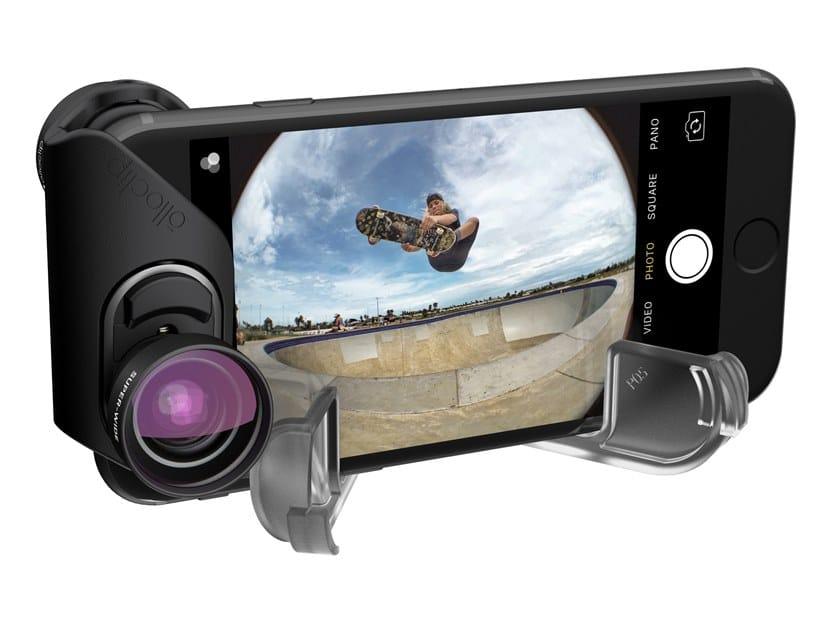 Obiettivo per smartphone INM350 |  FISHEYE, SUPER-WIDE E MACRO by Olloclip