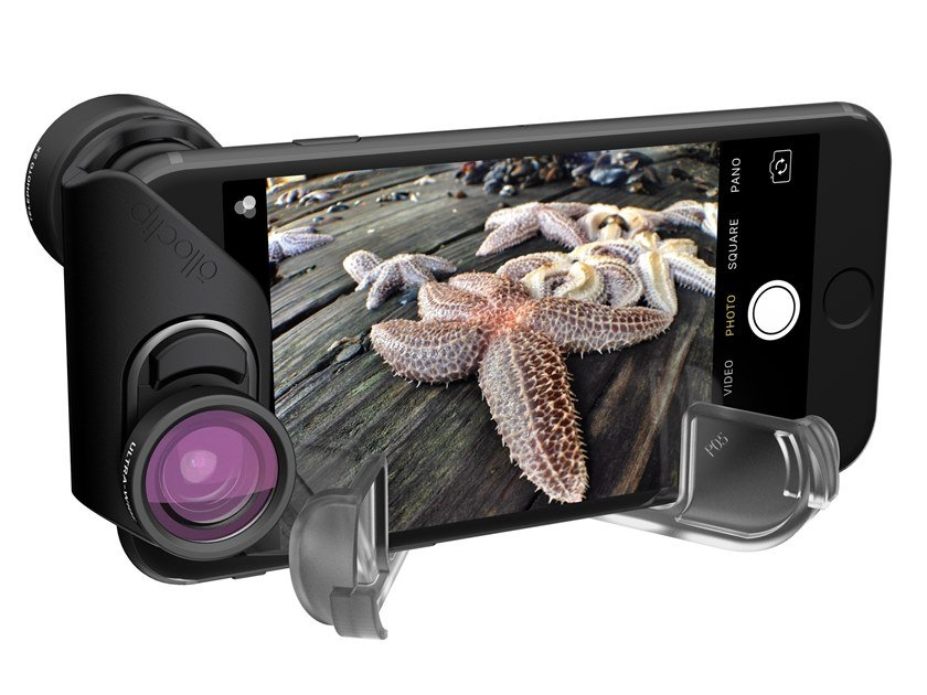 Smartphone lens INM351 Telephoto and Ultra-Wide lenses by Olloclip