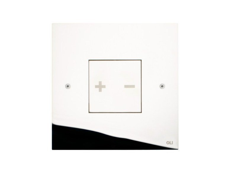 Glossy steel flush plate INO-X 03 | Glossy steel flush plate by OLI