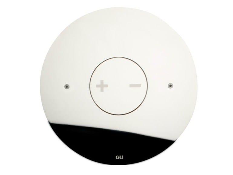 Glossy steel flush plate INO-X 06 | Glossy steel flush plate by OLI