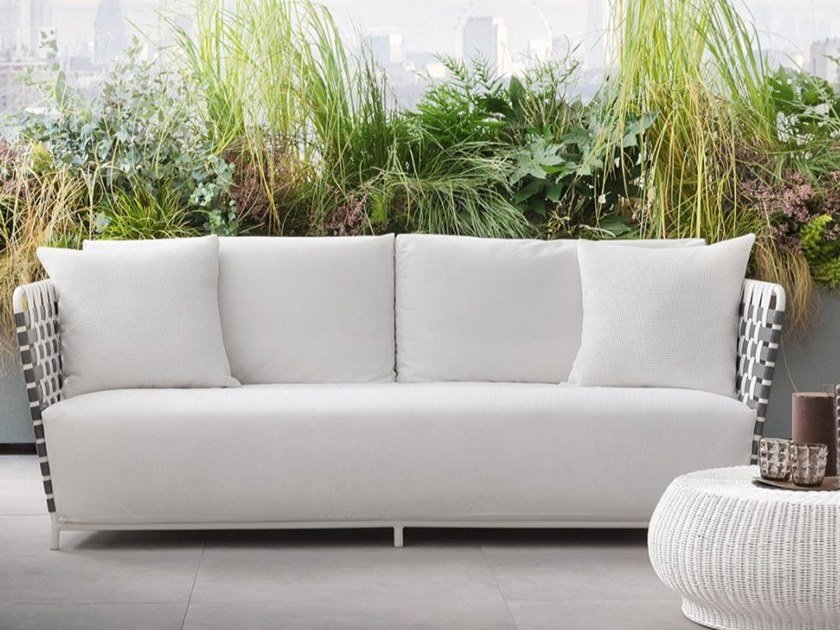 3 seater garden sofa INOUT 803 by Gervasoni