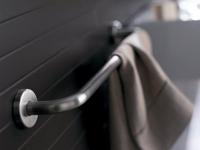 Porta asciugamani a barra in acciaio inox INOX | Porta asciugamani a barra by INDA®