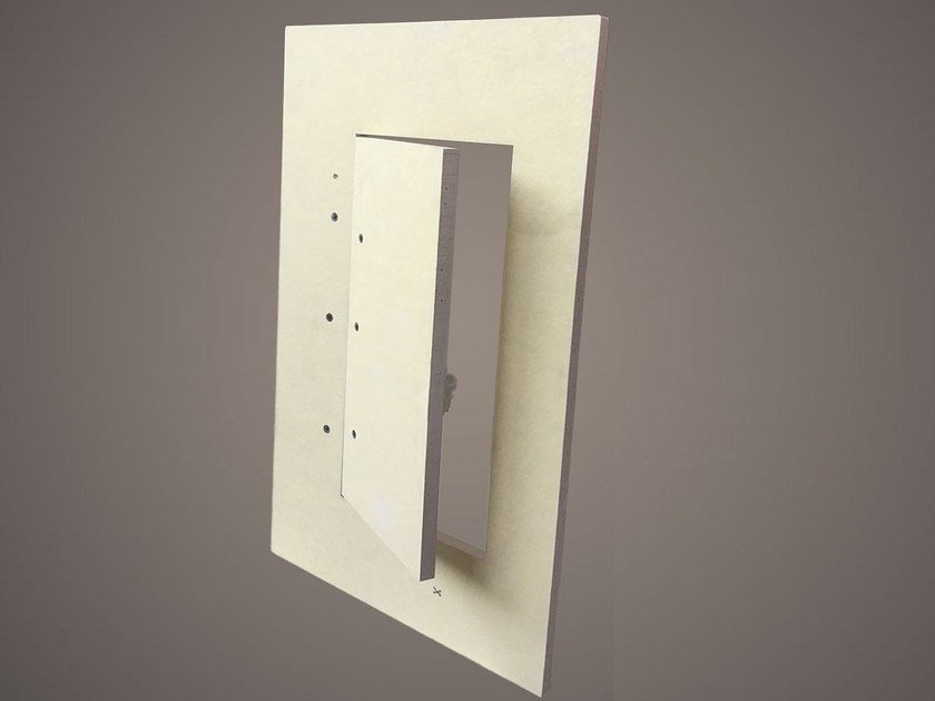Gypsum fiber inspection chamber INSPECTION DOOR by Profilgessi