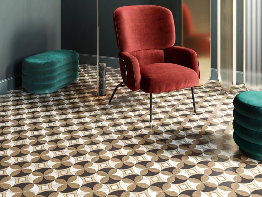 Pavimento/rivestimento in gres porcellanato INTARSI ELITE by CERAMICA SANT'AGOSTINO