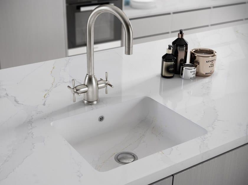 Single Silestone® sink INTEGRITY Q by Cosentino