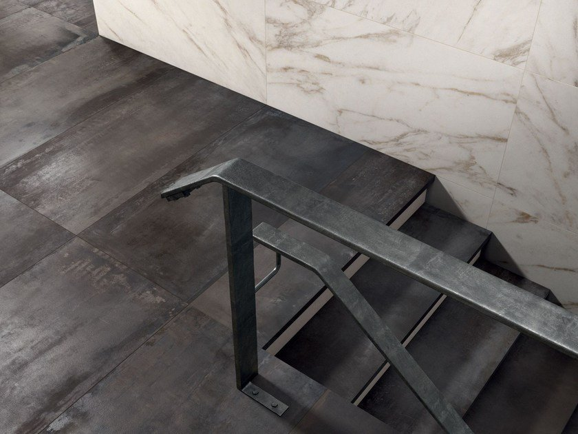Porcelain stoneware wall/floor tiles INTERNO 9 by ABK