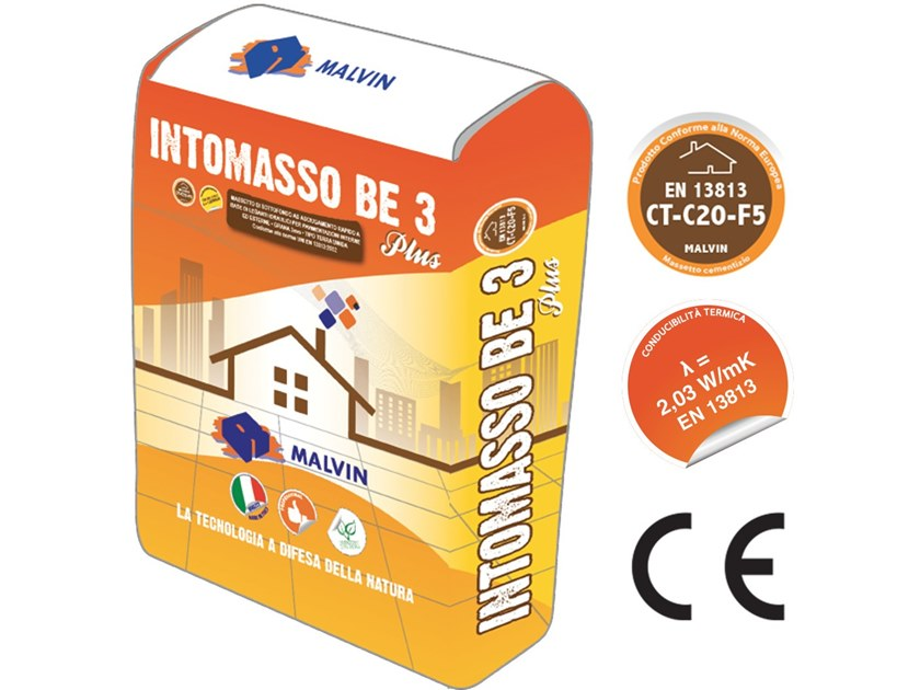 Self-levelling screed INTOMASSO BE 3 PLUS by malvin