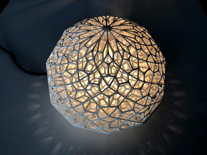 Table lamp INTRALIGHTTICE by INPPUT