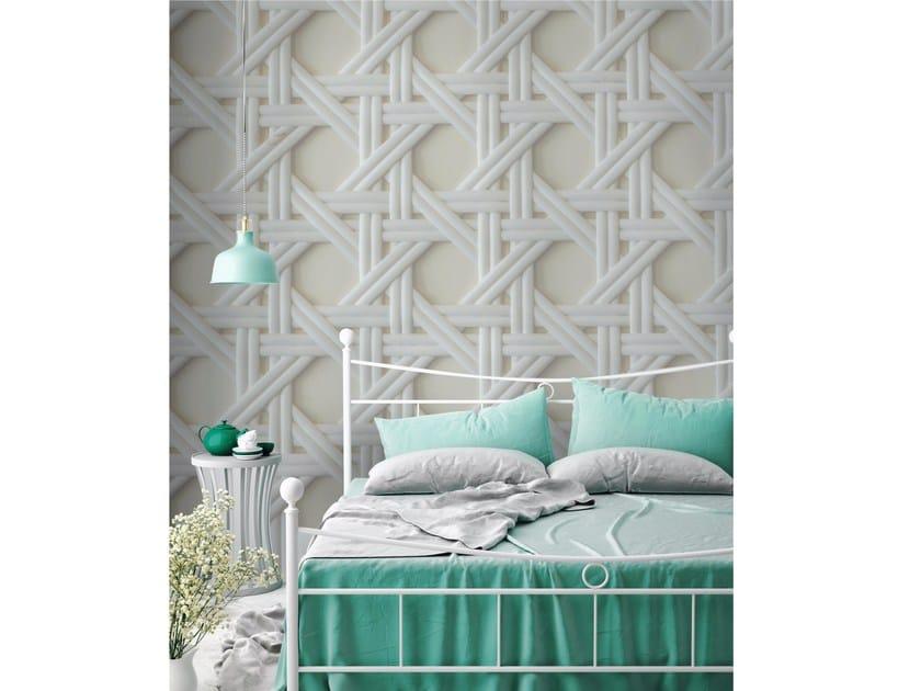 Adhesive washable wallpaper INTRECCI by Wall LCA