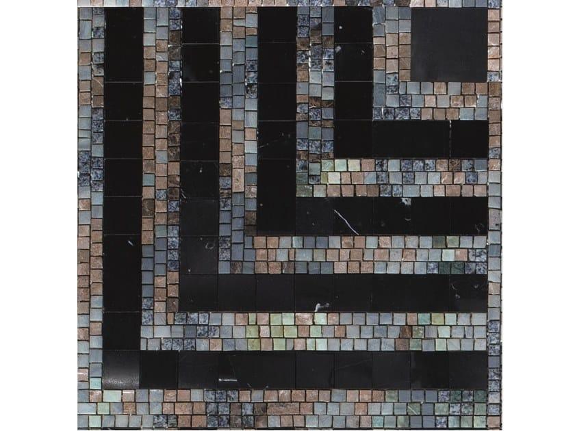 Marble mosaic INTRECCIO by FRIUL MOSAIC