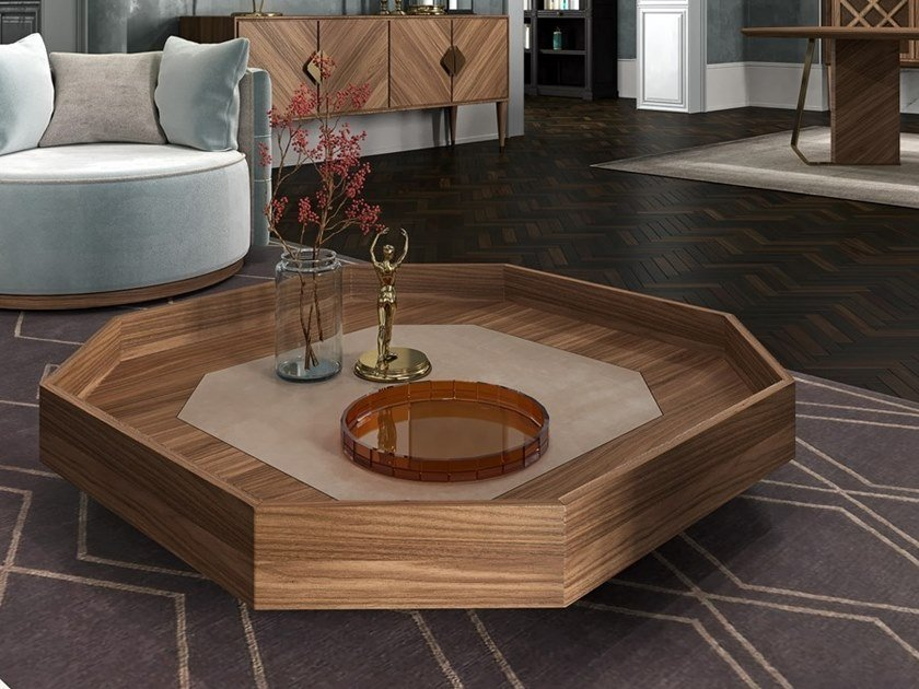 Low coffee table for living room INTRIGUE | Coffee table by Scandal