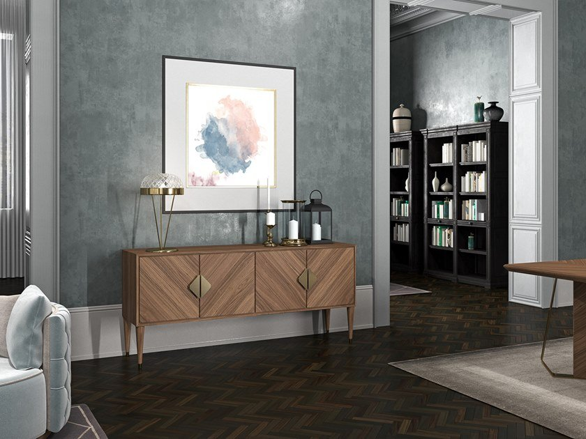 Sideboard with doors INTRIGUE | Sideboard by Scandal