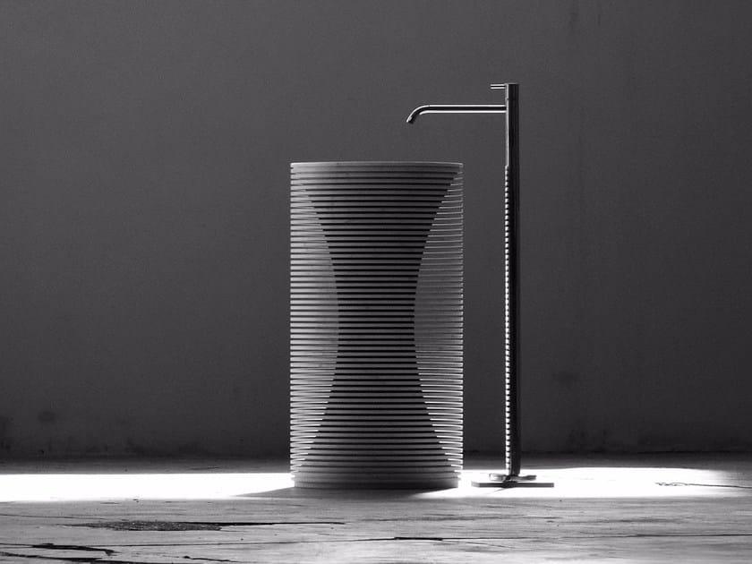 Lavabo freestanding in marmo INTROVERSO By Antonio Lupi Design ...
