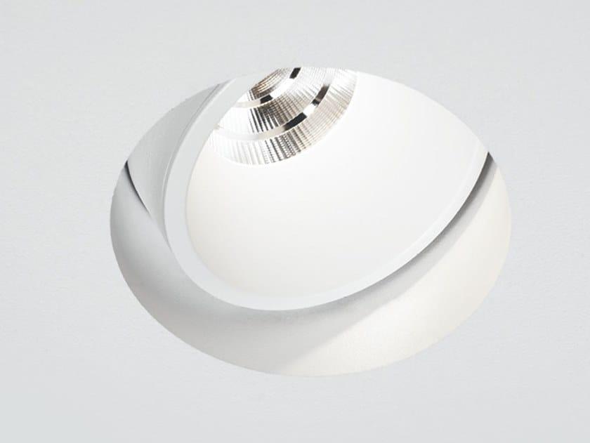 LED adjustable recessed spotlight INVADER | LED spotlight by PROLICHT