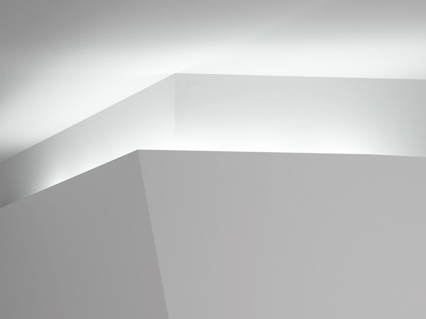 Linear lighting profile for LED modules INVISIBILE by FontanaArte