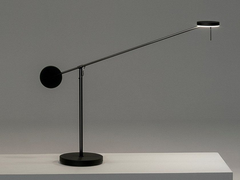LED adjustable aluminium table lamp INVISIBLE   Table lamp by Grok
