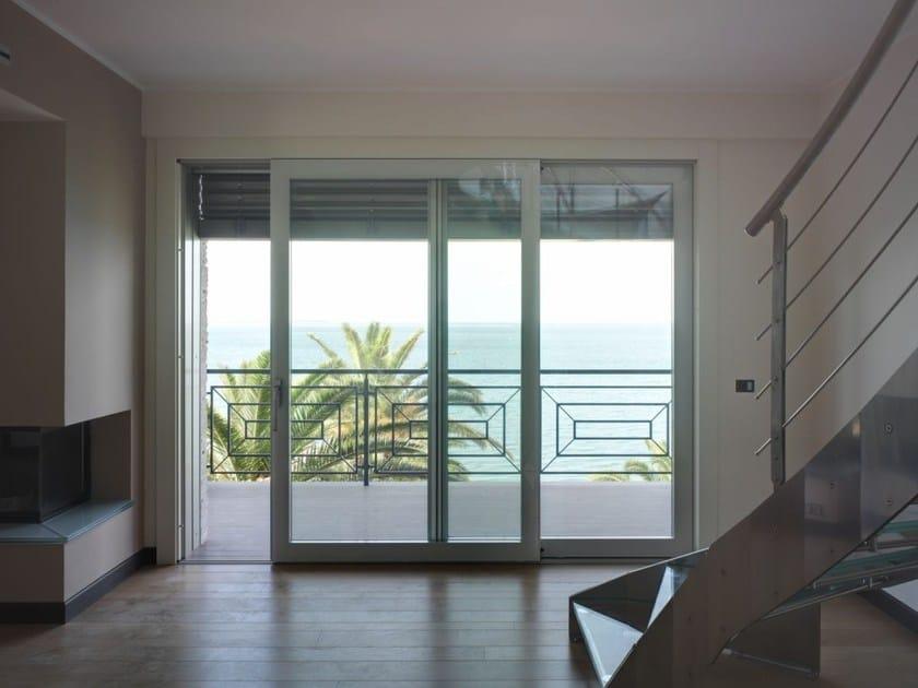 Porta finestra alzante scorrevole con triplo vetro - Porta finestra scorrevole ...