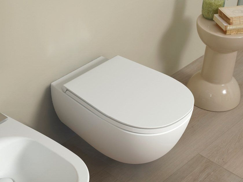 Wall-hung toilet IO 2.0 | Toilet by CERAMICA FLAMINIA