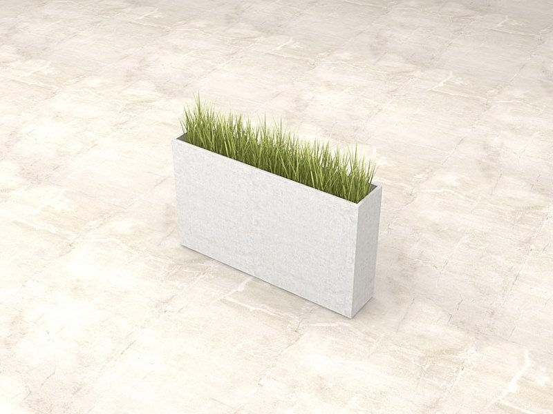Rectangular Flower pot IOTA (100) | Flower pot by Sit