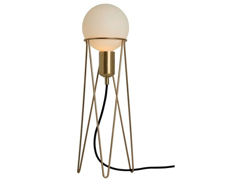 Metal table lamp IPPOT by Aromas del Campo