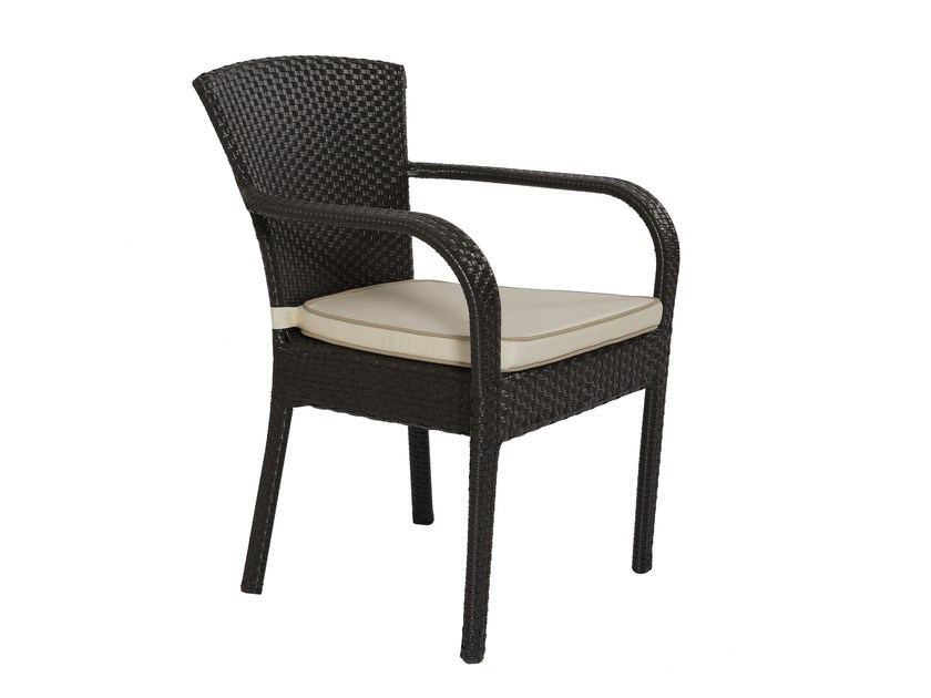 Garden chair with armrests IRENE | Chair by Atmosphera