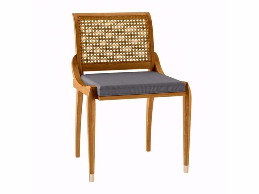Teak garden chair IRIS   Garden chair by ASTELLO