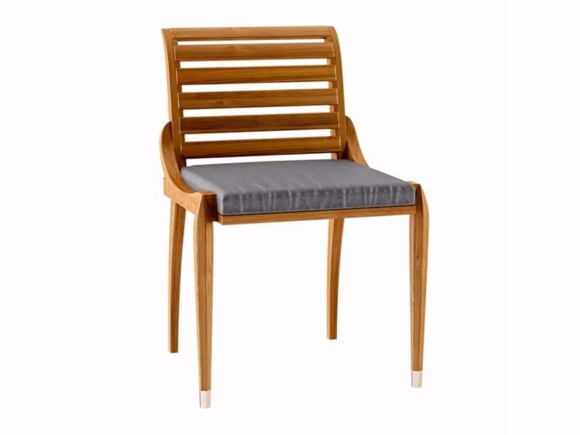 Teak garden chair IRIS | Garden chair by ASTELLO