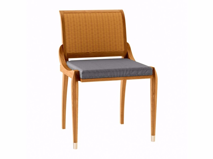 Teak garden chair IRIS | Garden chair by ASTELLO