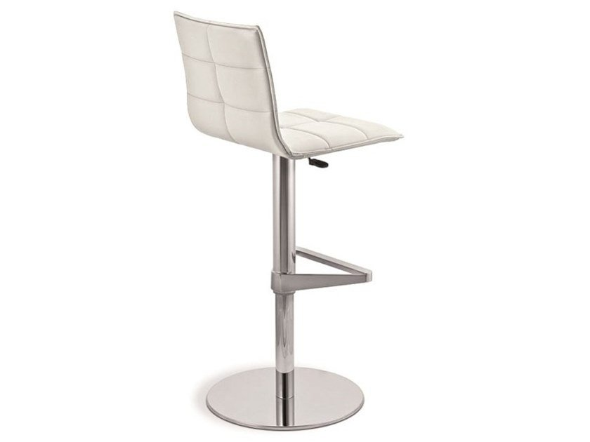 Upholstered height-adjustable stool IRIS | Height-adjustable stool by Natisa
