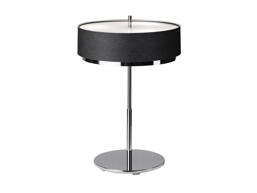 Direct light polyester table lamp IRIS | Table lamp by Estiluz