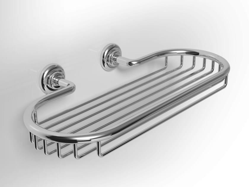 Metal bathroom wall shelf IRIS | Metal bathroom wall shelf by Alna