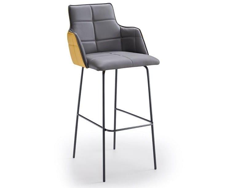 Upholstered stool IRIS P | Stool by Natisa