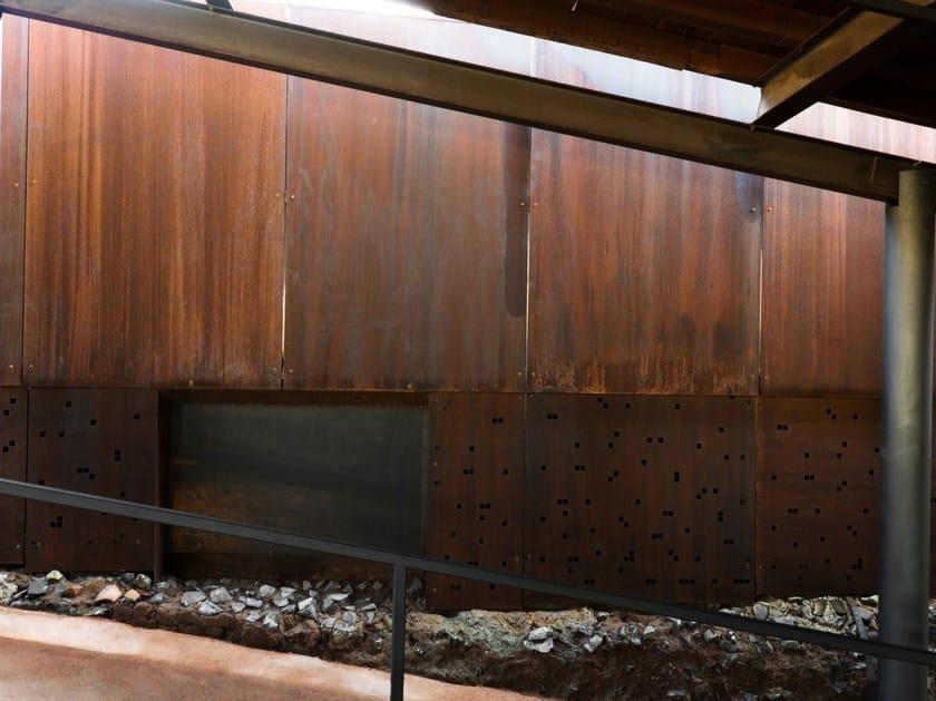 Rivestimenti metallici per architettura e design IRONeX TAILOR MADE ...