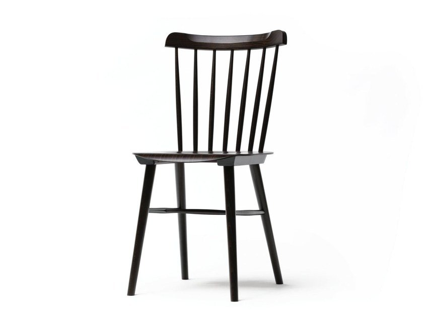 Wooden chair IRONICA by TON