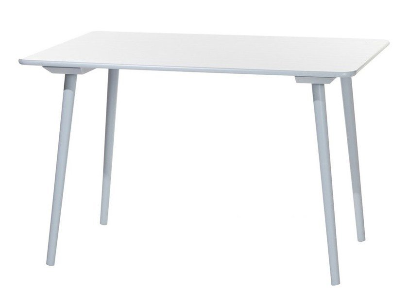 Wooden table IRONICA by TON