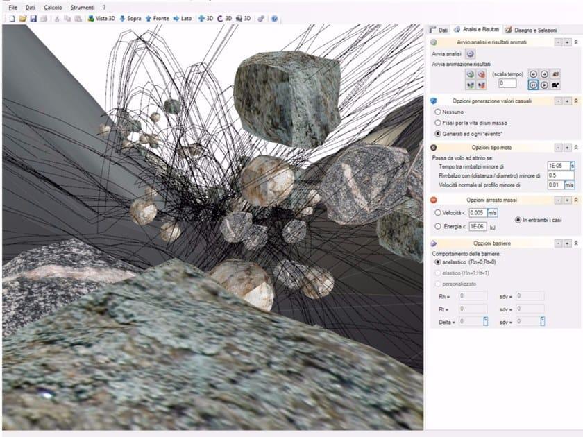 IS GEOMASSI Fotogramma animazione caduta massi