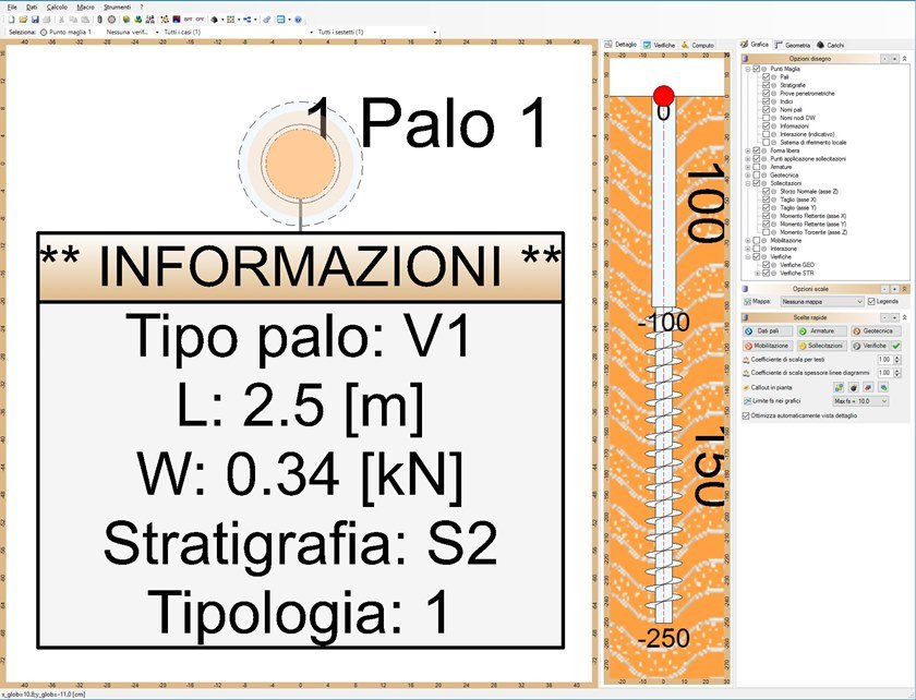 IS PALIFICATE IS Palificate - singolo palo