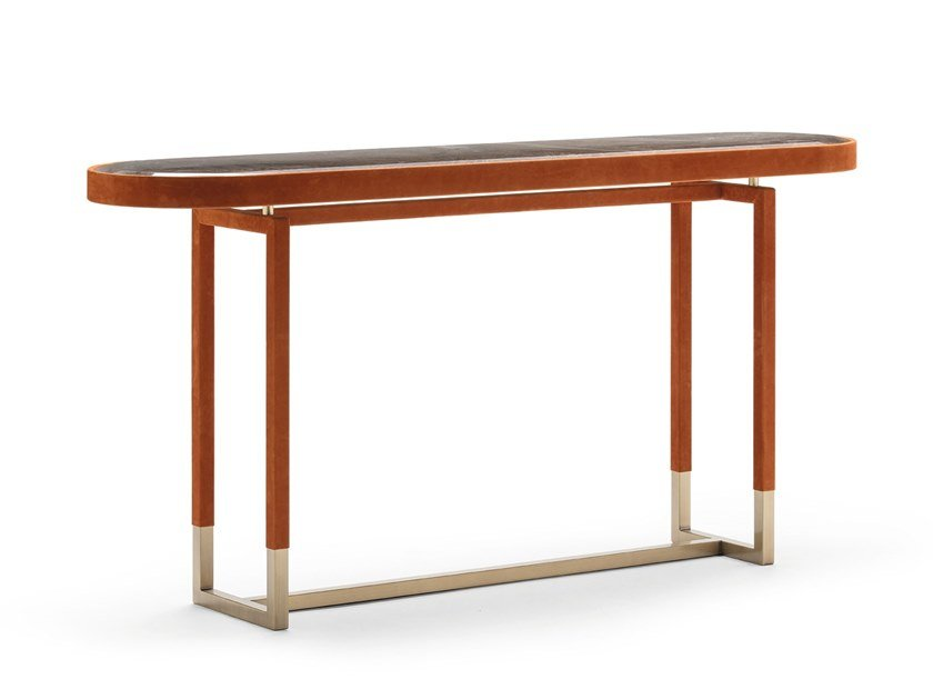 Oval console table ISABEL by OPERA CONTEMPORARY